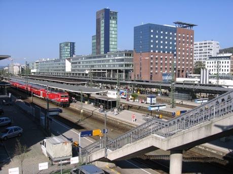 Dworzec we Freiburgu