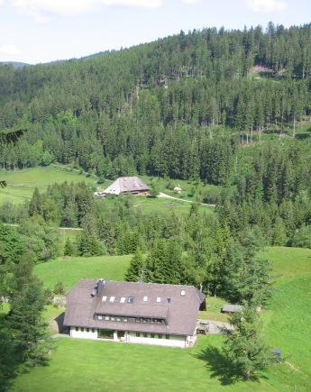 Widok na Południowy Szwarcwald