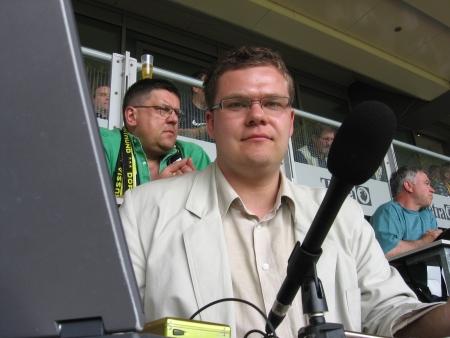Reporter Piotrowicz zawsze na miejscu