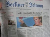 Wtorkowe wydanie Berliner Zeitung
