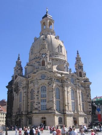 Frauenkienkirche - ładny tylko z zewnątrz.