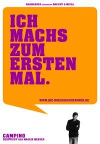 Campino na pocztówce reklamowej Opery za Trzy Grosze