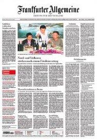 Pierwsza strona FAZ z 5.10.2007
